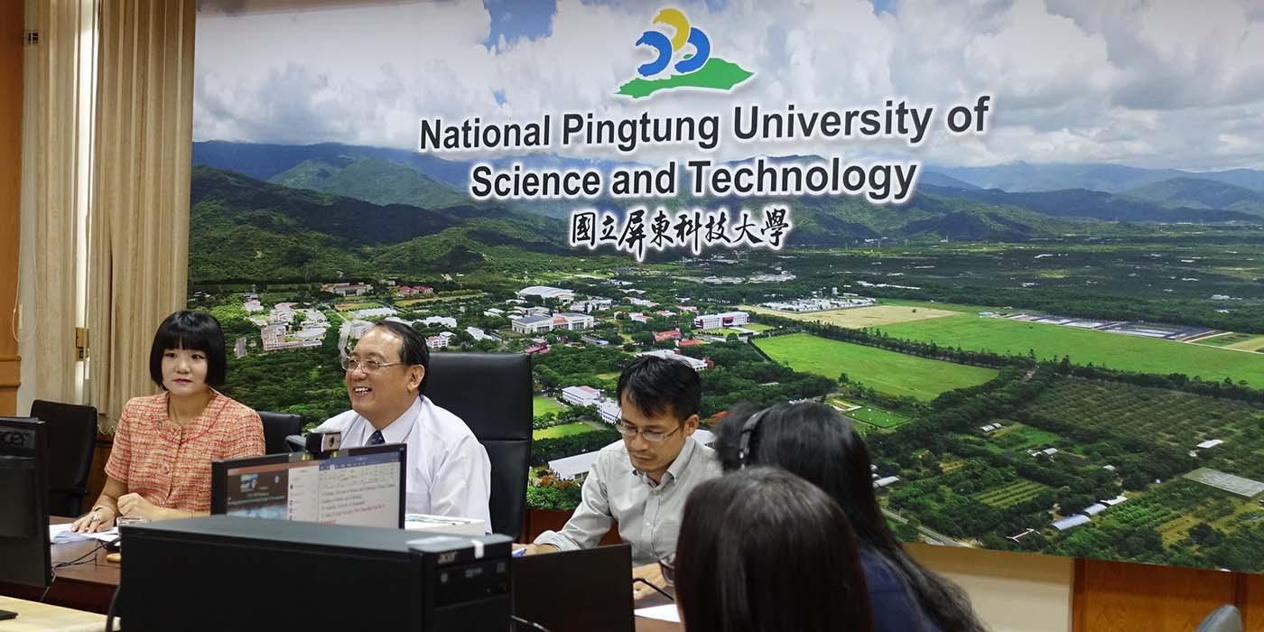 2020熱帶農業大學聯盟視訊會議-透過聯盟合作提升世界大學排名