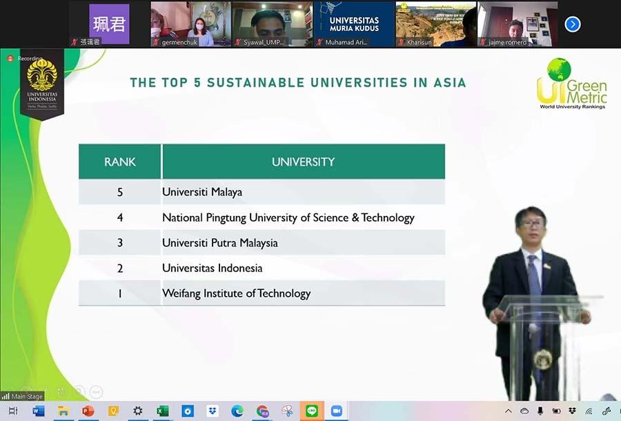 屏科大參與2020世界綠色大學評比再創佳績!-LED