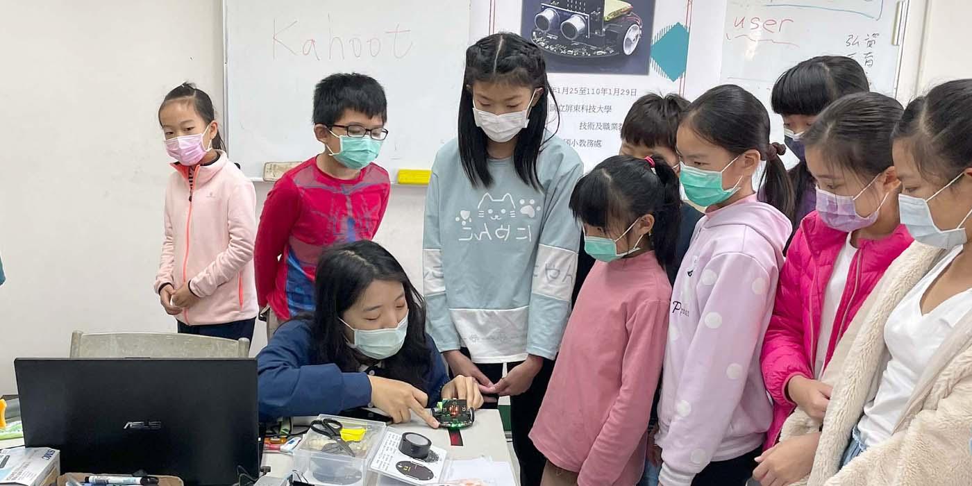英文教學結合科技教育 屏科大為孩子打造優質冬令營